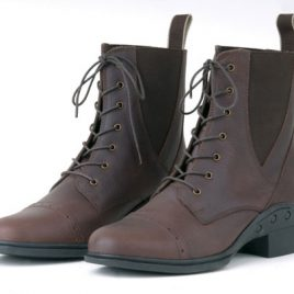 Rhinegold Elite Indiana Lace-up Paddock Boots.