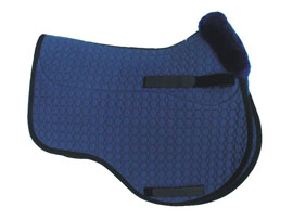 Mattes Semi Lined Eurofit Cut Saddle Pad with Correction System