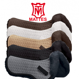 Mattes Half Pad Fully Lined with Front Trim.