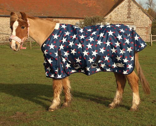 Rhinegold Small Pony Foal Star Tor Outdoor Rug