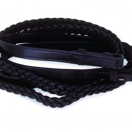 Windsor Equestrian Plaited Reins