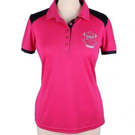 QHP Pink Polo Shirt UK 10