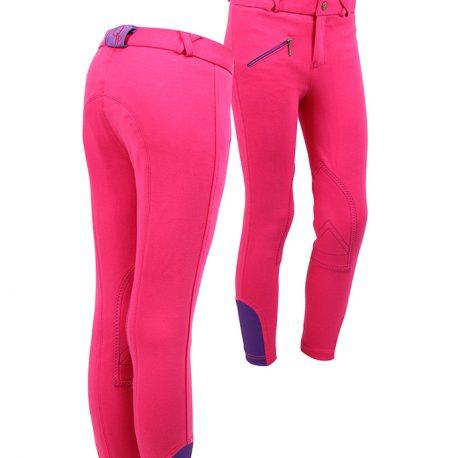Pink Junior Breeches