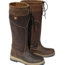 Rhinegold 'Elite' Vermont Leather Country Boots