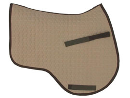 Mattes Underpad for Half Pads – Square and Eurofit Cut