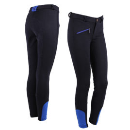 QHP Junior Breeches with Leather Seat