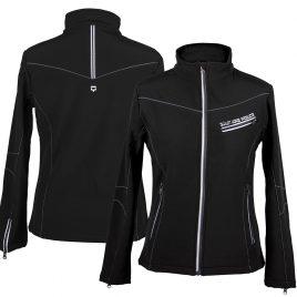 QHP Softshell Jacket Black UK 12