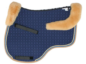 Mattes Eurofit Cut Saddle Pad with Saddle Shaped Trim and Correction System