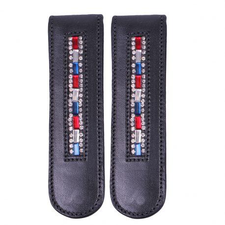 Black boot clip