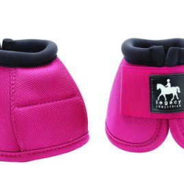 Legacy Pro-Tech Ballistic Over Reach Boots Pink Pony