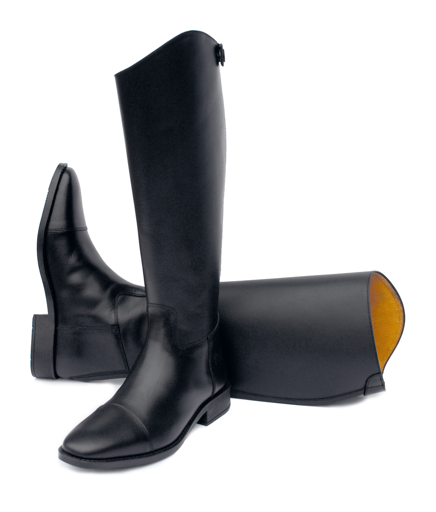 Rhinegold Hanover Long Leather Riding Boot Elite Equestrian