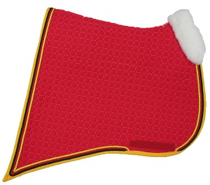 Mattes Baroque Semi Lined Saddle Pad with Front Trim