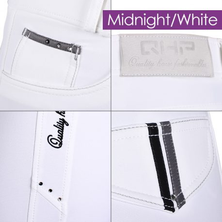 White and Black Breeches