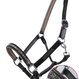 QHP Lupine Leather Head Collar