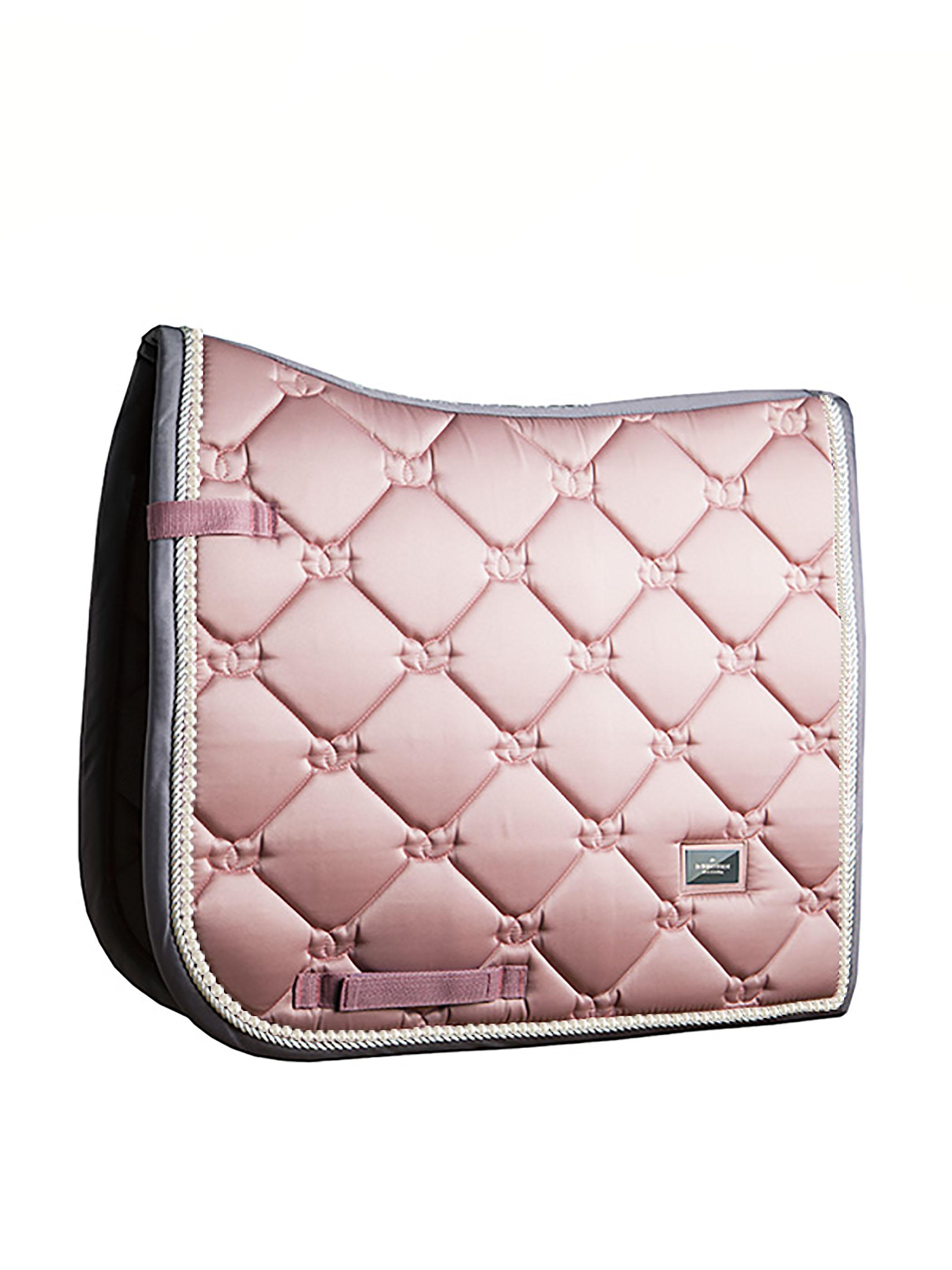 Equestrian Stockholm Pink Pearl Dressage Saddle Pad