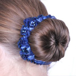 QHP Sparkle Hair Scrunchie