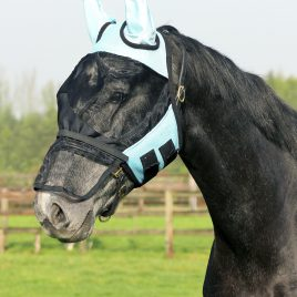 QHP Fly Mask with Detachable nose cover