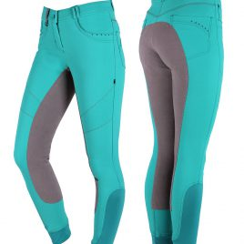 QHP Aileen Breeches with Leather Seat