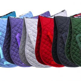 Rhinegold Cotton Quilted GP Numnah