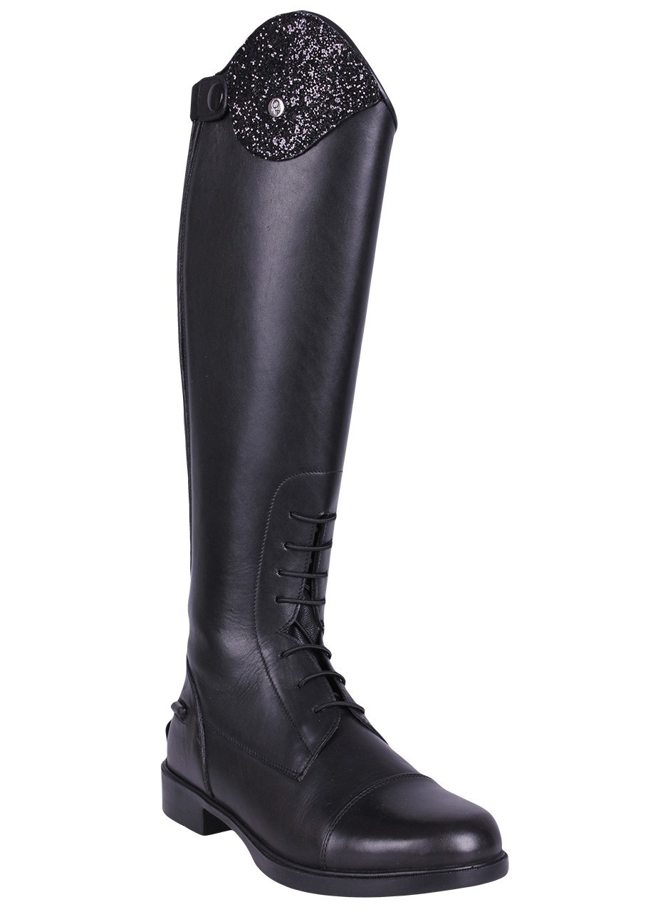Short Mucker Equestrian Riding Boots With 2 Touch Fastening Straps