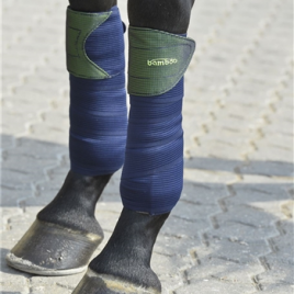 Rider By Horse Bamboo Bandages