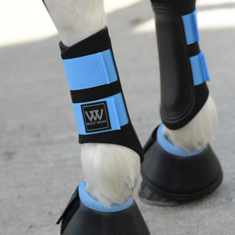 Powder Blue Club Brushing Boot