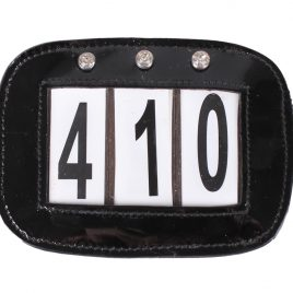 QHP Bridle/Saddle Pad Number Holder (set of 2)