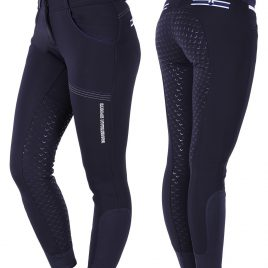 QHP Emma Anti-slip seat Softshell winter breeches