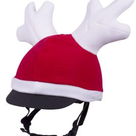 Reindeer Hat cover for Riding Hat