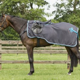 QHP Eldorado Fleece Exercise Rug