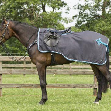 QHP Eldorado Fleece Exercise Rug