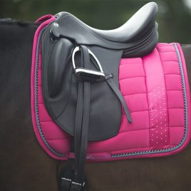 QHP Bright Pink Saddle Pad