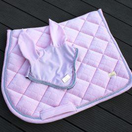 Pre order Horss Velvet Candy Pink Ear Net