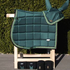 Horss Exclusive Forest Green Saddle Pad
