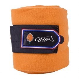 QHP Orange Fleece Bandages