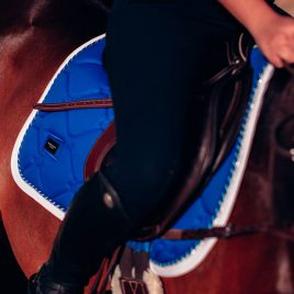 Equestrian Stockholm Sapphire Jump/GP Saddle Pad