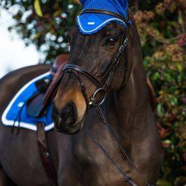 Equestrian Stockholm Sapphire Ear Net