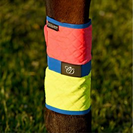 Equisafety Multi Coloured Leg Boots