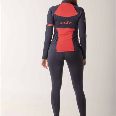 navy and red base layer
