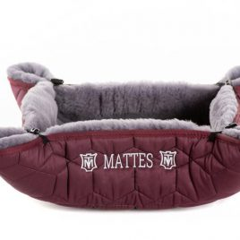 Mattes Betti Sheepskin Dog Bed