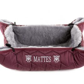 Mattes Cecil Sheepskin Dog Bed