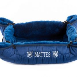 Mattes Febe Sheepskin Dog Bed