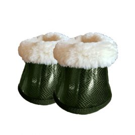Equestrian Stockholm Forest Green Bell Boots