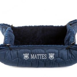 Mattes Lucky Sheepskin Dog Bed