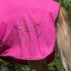 QHP Pegasus Fleece Rug