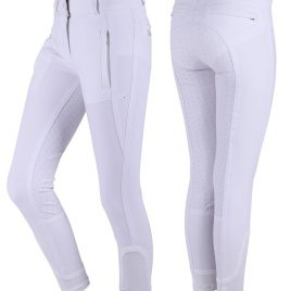 QHP Mellany Silicone Seat Junior Breeches
