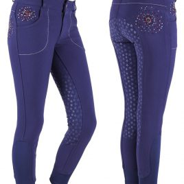 QHP Chelsey Silicone Seat Junior Breeches