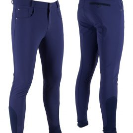 QHP Men's Silicone Knee Breeches