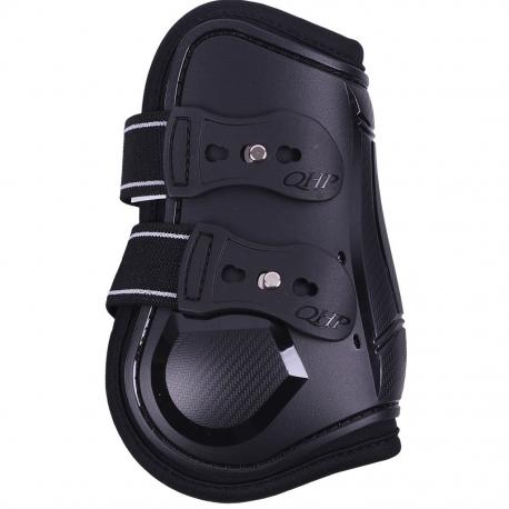 black fetlock boots