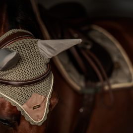 Equestrian Stockholm Golden Olive Ear Net